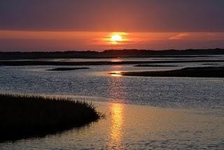 Sunsetprovincetownbreakwater steven pinkers