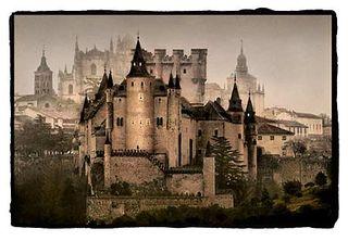 Castle Segovia lg  Segovia castle that inspired Walt Disney