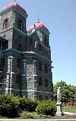 Monastery front